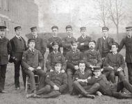 Sick Berth Staff at Haslar 1910
