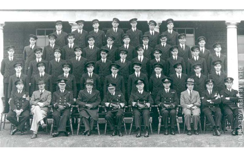 Sick Berth Staff Probationers at RNH Haslar. Canada Block 1937