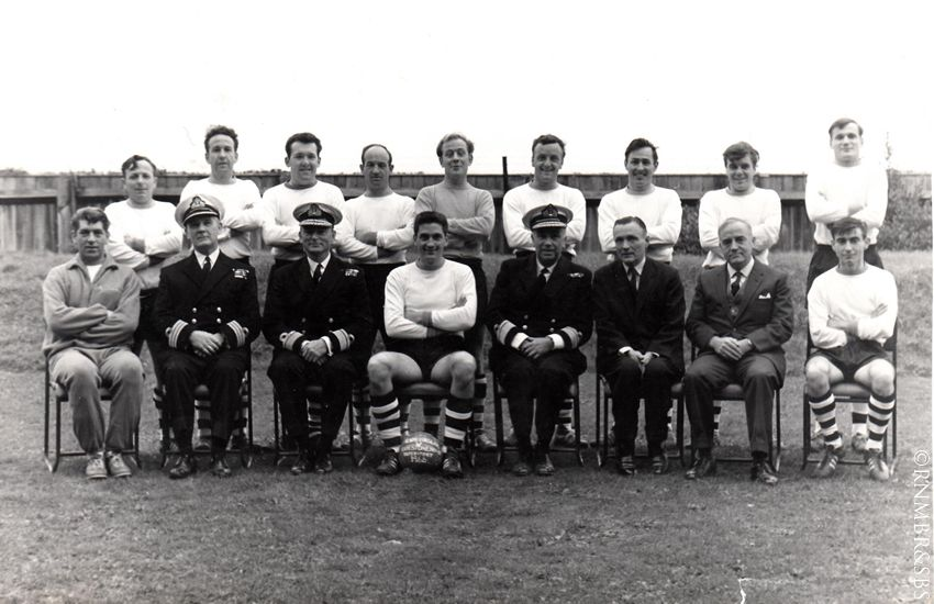 Interport Stonehouse football - 1966