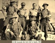 45 RM Commando SBS at Aquaba 1948