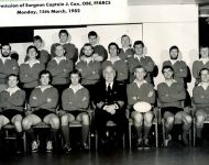 Interport Rugby 1982