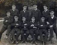 Sickberth Staff at Haslar 1915