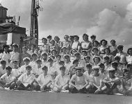 Medical Staff aboard HMS Glory 1945
